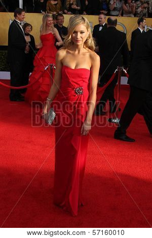 Katrina Bowden at the 17th Annual Screen Actors Guild Awards, Shrine Auditorium, Los Angeles, CA. 01-30-11