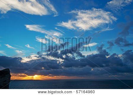 Sunset In Capo Caccia