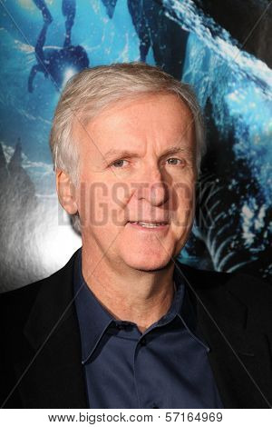 James Cameron at the World Premiere of
