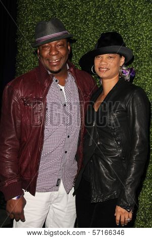 Bobby Brown and Alicia at the Black Eyed Peas 7th Annual Peapod Benefit Concert, Music Box, Hollywood, CA. 02-10-11