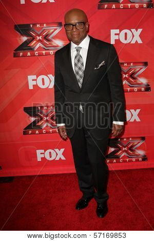 L.A. Reid at The X Factor Season Finale, CBS Television City, Los Angeles, CA 12-22-11