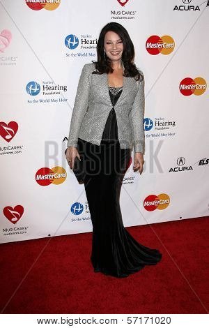 Fran Drescher at the MusiCares Tribute To Barbra Streisand, Los Angeles Convention Center, Los Angeles, CA. 02-11-11