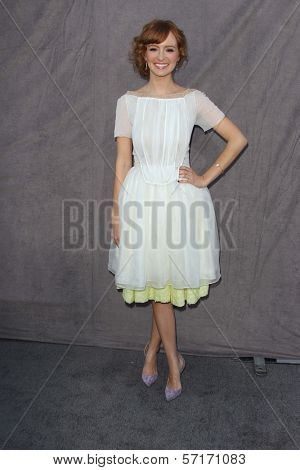 Ahna O'Reilly at the 17th Annual Critics' Choice Movie Awards, Palladium, Hollywood, CA  01-12-12