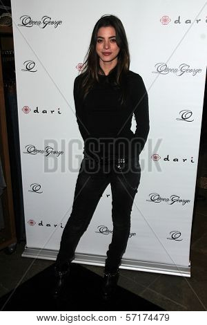 Gia Mantegna at the Launch Party for Q by Jodi Lyn O'Keefe, Dari Boutique, Studio City, CA 01-23-12