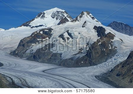 Aletch The Longest Glacier In Alps