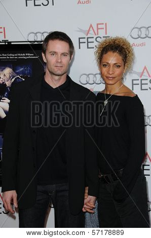Garret Dillahunt, Michelle Hurd at the