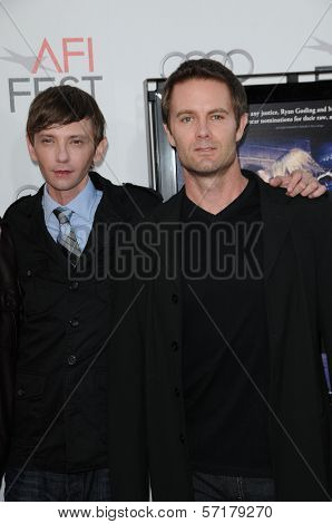 DJ Qualls and Garret Dillahunt  at the