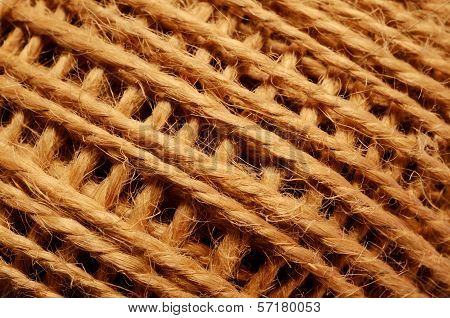 Skein Of Coarse Brown Thread