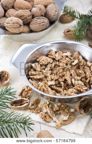 Fresh Portion Of Walnuts