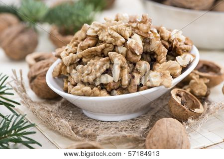 Portion Of Walnuts