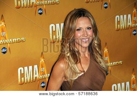Sheryl Crow at the 44th Annual CMA Awards, Bridgestone Arena, Nashville, TN.  11-10-10