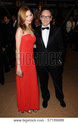 Heather Graham and Kevin Spacey  at the  2nd Annual Academy Governors Awards, Kodak Theater, Hollywood, CA.  11-14-10