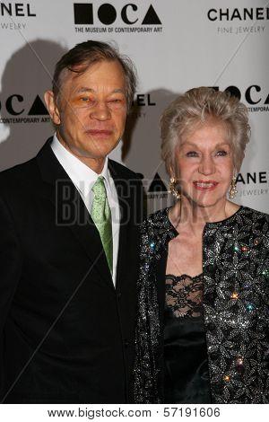 Michael York and Pat York at MOCA's Annual Gala