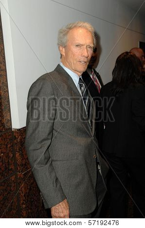 Clint Eastwood at the Inaugural Museum Of Tolerance International Film Festival Gala Honoring Clint Eastwood, Museum Of Tolerance, Los Angeles, CA. 11-14-10