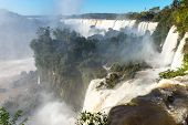 The fantastic Iguazu falls