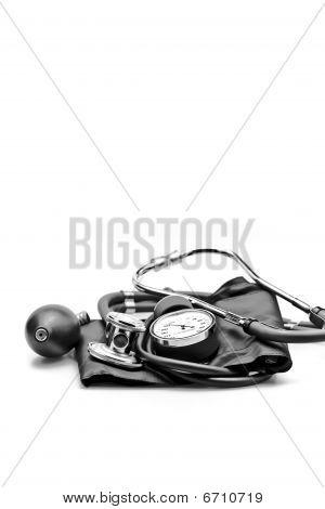 medical instruments stethoscope blood pressure