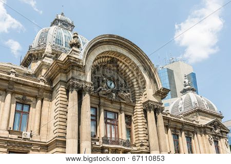 CEC Bank In Bucharest