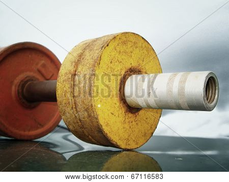 Retro Dumbbell