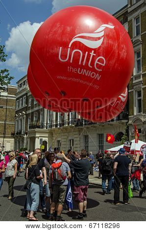 Unite Union Balloons