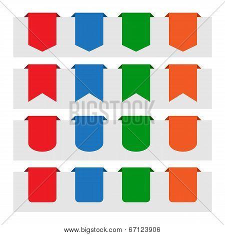 Various Paper Tag Labels