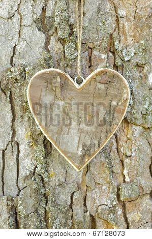 heart at tree