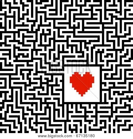 Maze With Heart