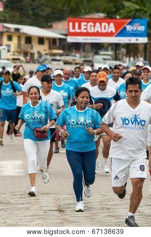 5K Run In Ecuador