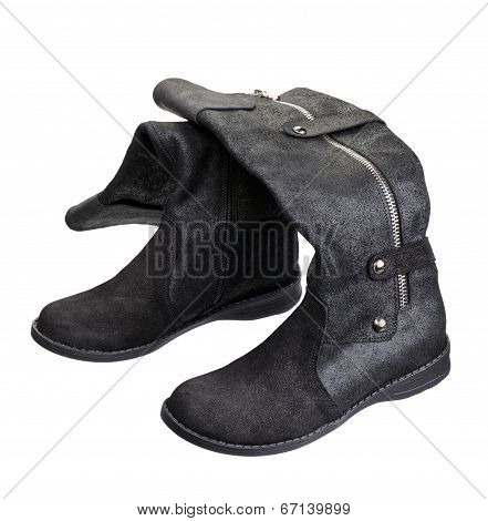 Women Boots, Isolated