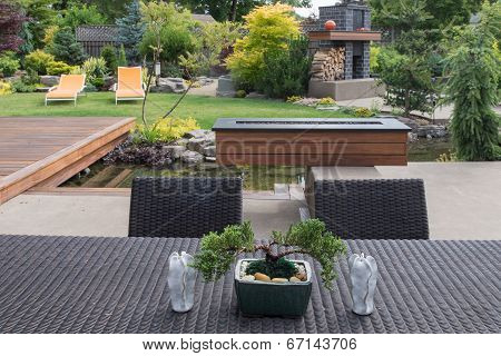 Bonsai With Table
