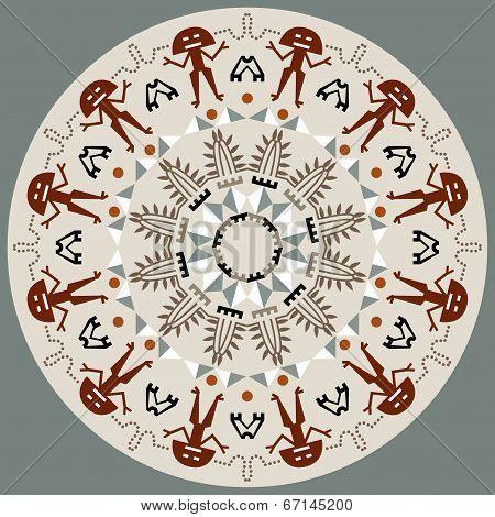 Disc With Original Art Elements