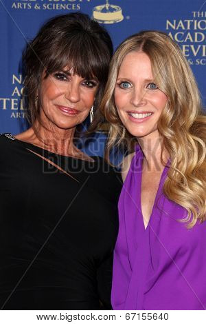 LOS ANGELES - JUN 20:  Jess Walton, Lauralee Bell at the 2014 Creative Daytime Emmy Awards at the The Westin Bonaventure on June 20, 2014 in Los Angeles, CA