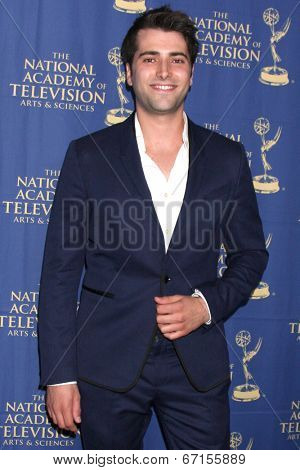 LOS ANGELES - JUN 20:  Freddie Smith at the 2014 Creative Daytime Emmy Awards at the Bonaventure Westin on June 20, 2014 in Los Angeles, CA