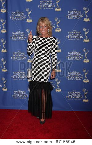 LOS ANGELES - JUN 20:  Joie Scott at the 2014 Creative Daytime Emmy Awards at the The Westin Bonaventure on June 20, 2014 in Los Angeles, CA