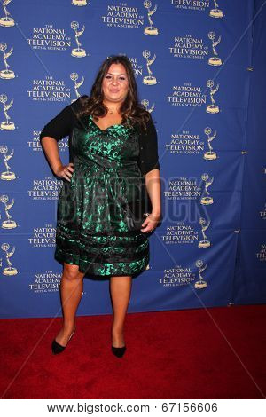 LOS ANGELES - JUN 20:  Angelica McDaniel at the 2014 Creative Daytime Emmy Awards at the The Westin Bonaventure on June 20, 2014 in Los Angeles, CA