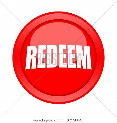 Redeem button