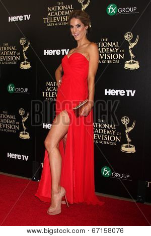 LOS ANGELES - JUN 22:  Kelly Kruger at the 2014 Daytime Emmy Awards Arrivals at the Beverly Hilton Hotel on June 22, 2014 in Beverly Hills, CA