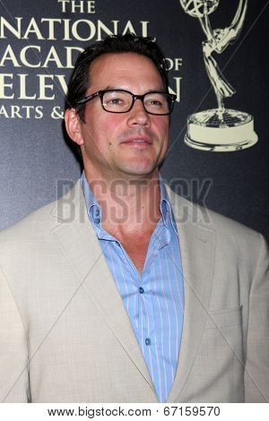 LOS ANGELES - JUN 22:  Tyler Christopher at the 2014 Daytime Emmy Awards Arrivals at the Beverly Hilton Hotel on June 22, 2014 in Beverly Hills, CA