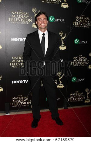 LOS ANGELES - JUN 22:  Daniel Goddard at the 2014 Daytime Emmy Awards Press Room at the Beverly Hilton Hotel on June 22, 2014 in Beverly Hills, CA