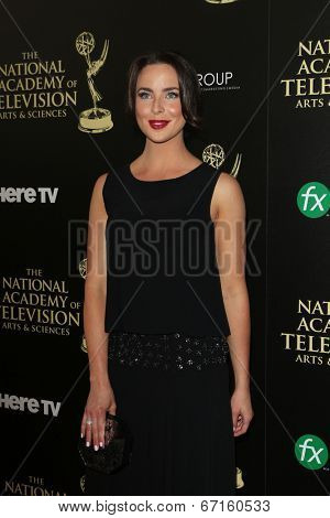 BEVERLY HILLS - JUN 22: Ashleigh Brewer at The 41st Annual Daytime Emmy Awards at The Beverly Hilton Hotel on June 22, 2014 in Beverly Hills, California