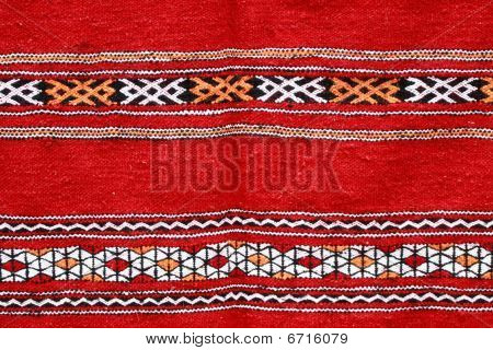 Handmade Blanket With Color Pattern