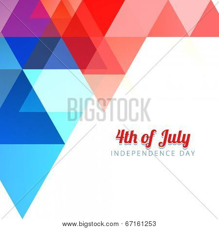 american 4th of july background design