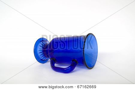 Clear Blue Cup