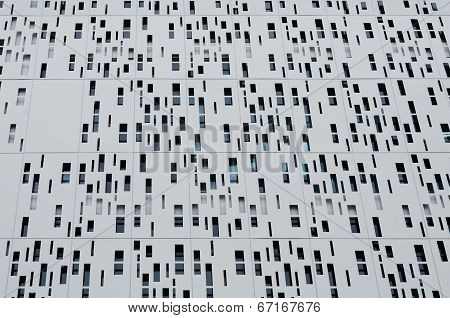Bangkok, Thailand - June 22, 2014: Modern aluminum cladding second skin of Siam one shopping mall in