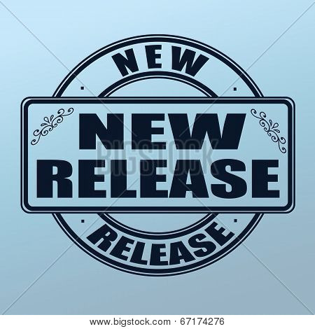 New Release Stamp