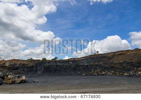 Site to mine the coal