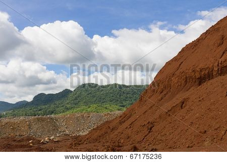 Laterite Ores Stockpile