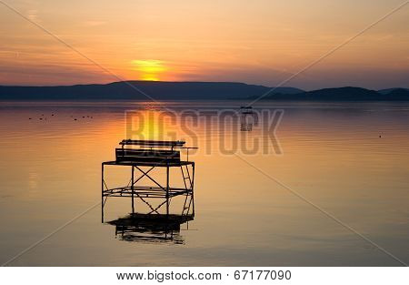 Lake Balaton After Sunset