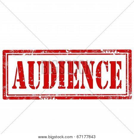 Audience-stamp
