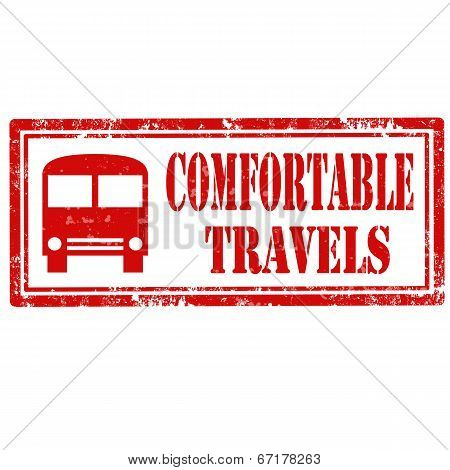 Comfortable Travels-stamp