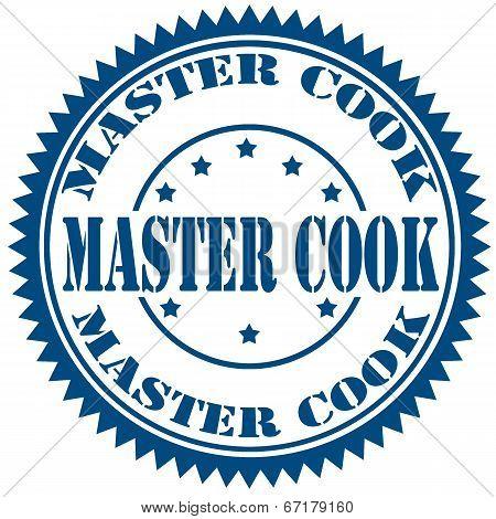 Master Cook-stamp